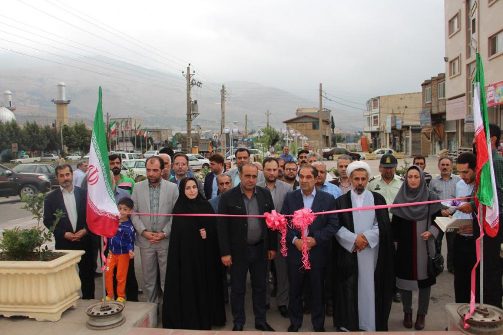 افتتاح پروژه های عمرانی شهرداری رستم آباد بمناسبت هفته دولت